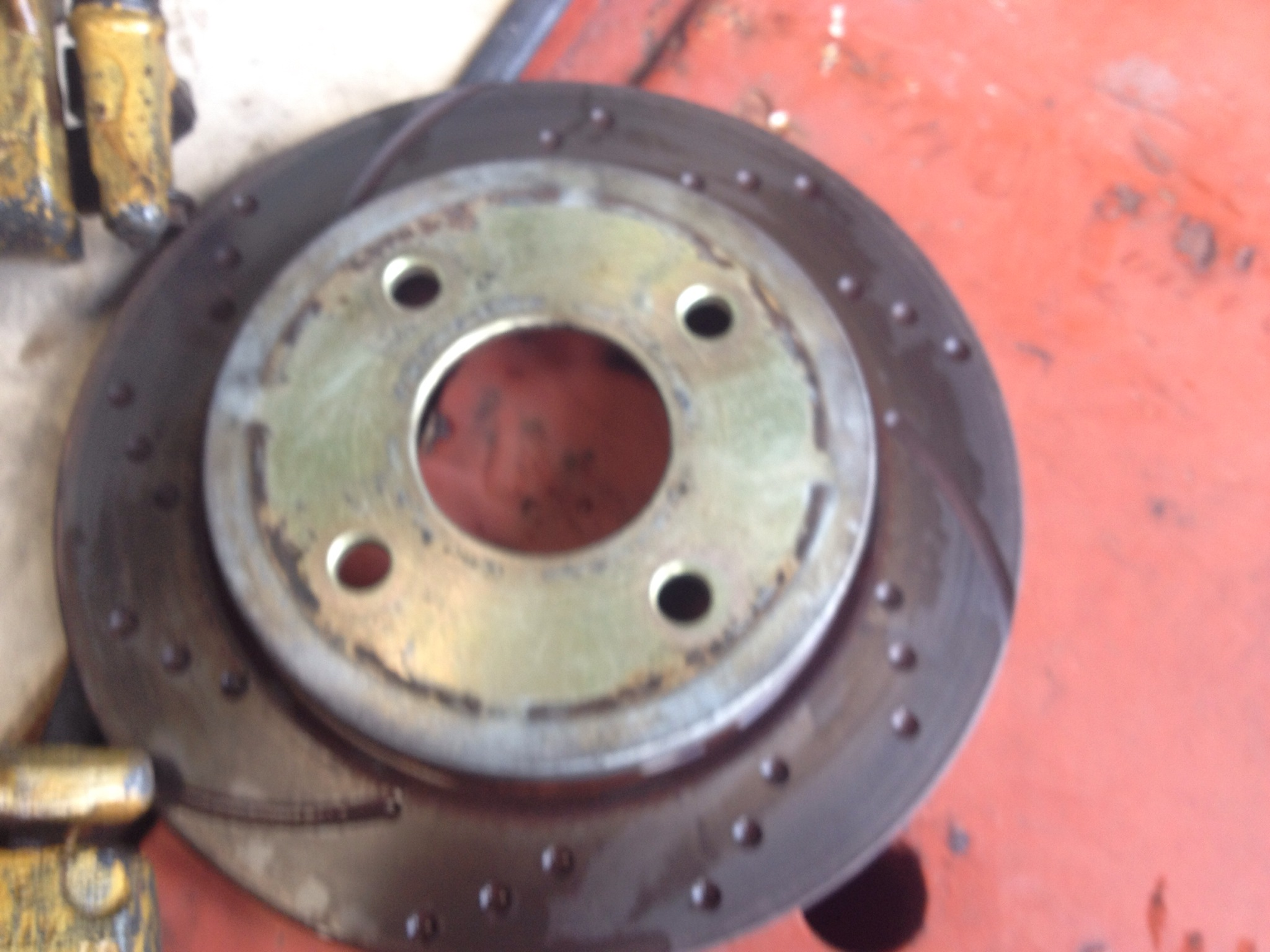 ford fiesta st150 rear brake set up inc drilled and grove discs ford bits. Black Bedroom Furniture Sets. Home Design Ideas