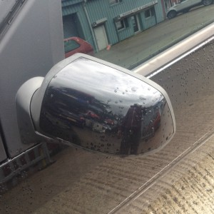 2006-PASSANGER-SIDE-POWER-FOLD-WING-MIRROR-IN-PANTHER-BLACK-USED-UNDAMAGED-281412749481