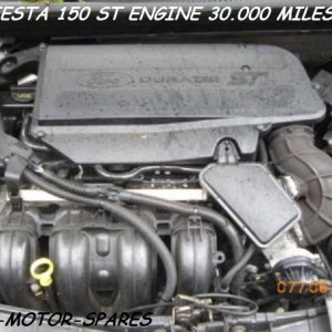2008-57-FORD-FIESTA-ST-150-ENGINE-BARE-ENGINE-N4JB-WITH-30-DAY-WARENTY-CHEAP-301376038916
