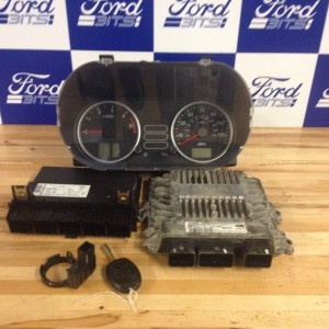 FORD-FIESTA-14-TDCI-ECU-SET-COMPLETE-WITH-LOCKS-IN-FULL-WORKING-PRE-FACELIFT-271664743802
