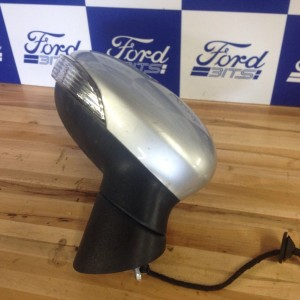 FORD-FIESTA-2008-MK8-DRIVERS-SIDE-ELECTRIC-WING-MIRROR-IN-SILVER-WITH-INDICATOR-301383254520