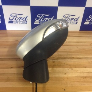 FORD-FIESTA-2008-MK8-PASSANGERS-ELECTRIC-WING-MIRROR-IN-SILVER-WITH-INDICATOR-271664654648