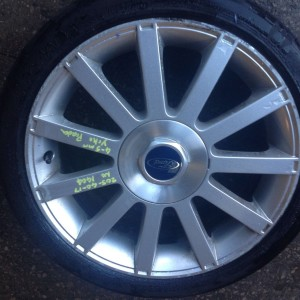 FORD-FIESTA-ST-17-ALLOY-WHEEL-AND-205-40-17-TYRE-USED-ALLOY-GOOD-CONDITION-281486530322